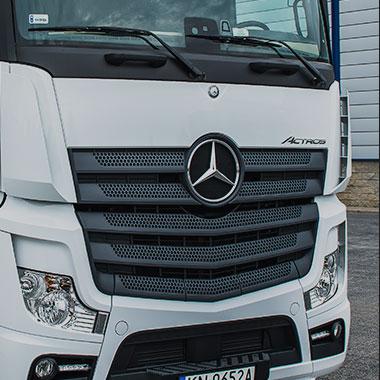 Ciągniki marki Mercedes