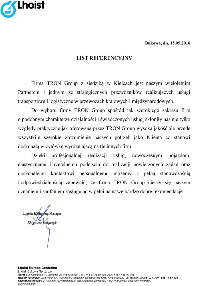 Referencje-z-firmy--Lhoist-dla-TRON-Group